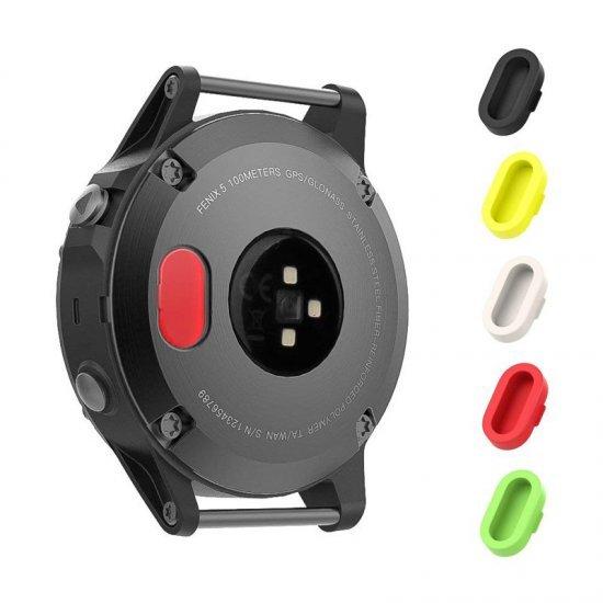 Garmin Anti Dust Plugs Caps (5 ชิ้น Colorfu) จุกยางซิลิโคนปิดช่องชาร์จ นาฬิกา Garmin (Premium)