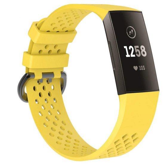 Fitbit Charge 4 / 3 - Sport Band (TSM Band) สายสปอร์ต (M/L) (Premium)