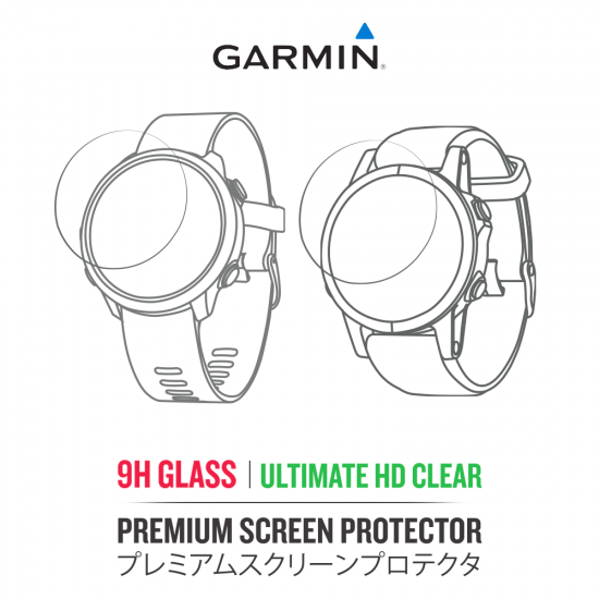 Garmin Screen Protector ฟิล์มกันรอยการ์มิน (รับประกันคุณภาพ เปลี่ยนใหม่ฟรี)