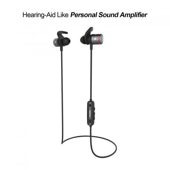 Jabees Bluetooth Hearing Amplifier AMPSound หูฟังไร้สาย