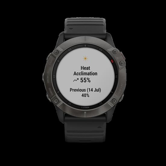 Garmin Fenix 6X (Sapphire Edition) - นาฬิกา GPS มัลติสปอร์ตพรีเมี่ยม