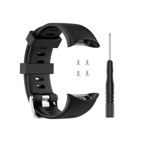 Garmin Forerunner 45 / Swim 2 - สายซิลิโคนสำรอง Silicone Band (Premium)