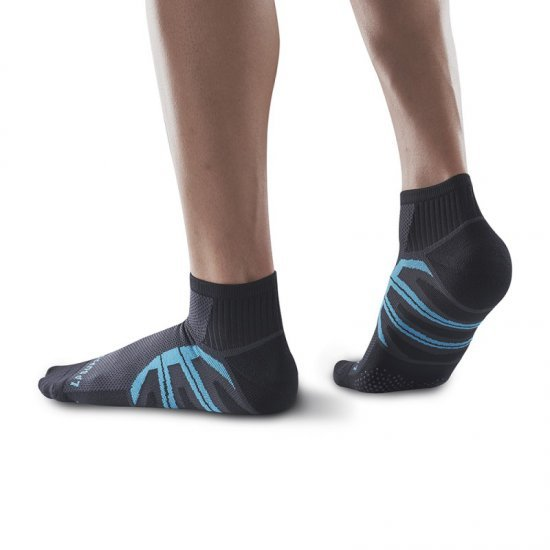 LP Support Running Compression Socks (SOU3201Z) ถุงเท้าวิ่งสั้น (Mini Crew) Compression
