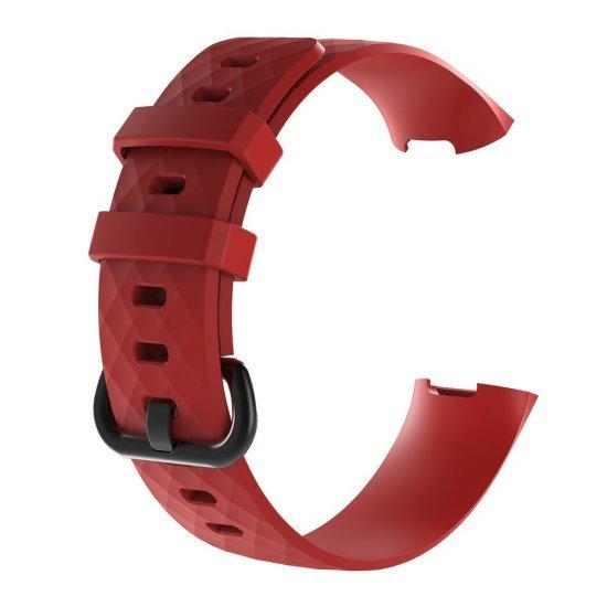 Fitbit Charge 3/4 - Silicone Band (TSM Band) สายซิลิโคน (M/L) (Premium)