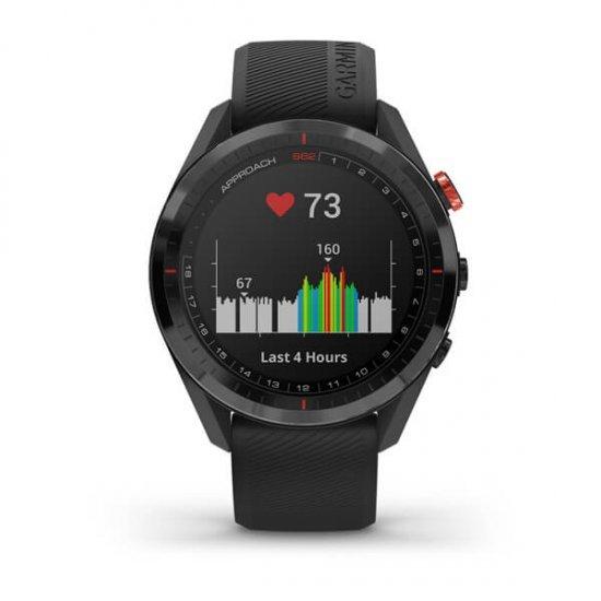Garmin Approach S62 นาฬิกา GPS กอล์ฟ วัดชีพจรที่ข้อมือ