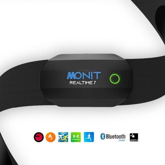 Monit RealTime 7 สายคาดหน้าอก Bluetooth ANT+ (Dual Mode)