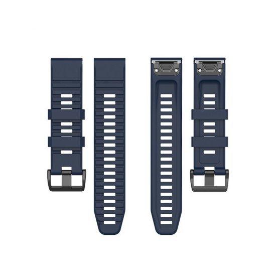 Garmin Fenix 6X/5X/5X Plus (Premium QuickFit 26) - Silicone Band (TSM Band) สายซิลิโคน (Premium)
