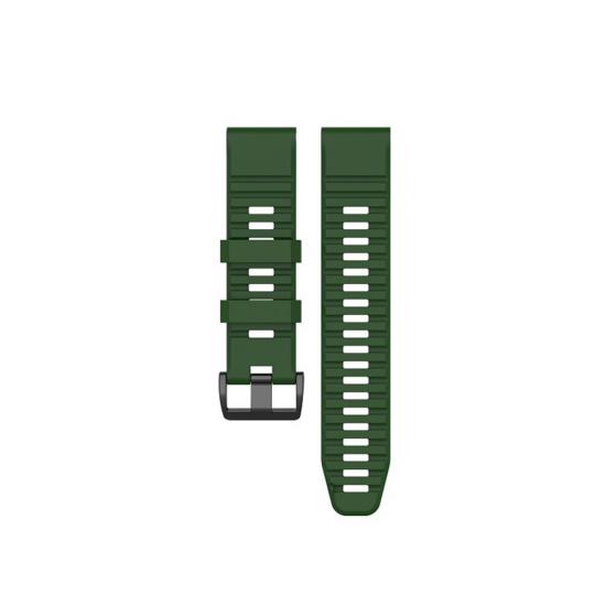 Garmin Fenix 6 / 5 / 5 Plus (ลายใหม่ 2020 / QuickFit 22) - Silicone Band (TSM Band) สายซิลิโคนสำหรับ Fenix 6/5/5 Plus/FR745/FR935/FR945/S62/S60 (Premium)