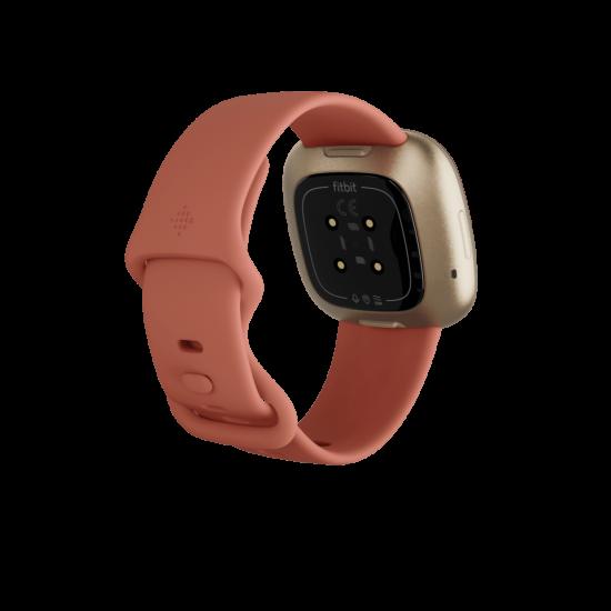 Fitbit Versa 3 สมาร์ทวอทช์ GPS ฟิตเนส &สุขภาพ