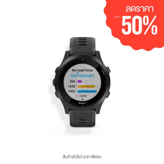 (สินค้าตัวโชว์) Garmin Forerunner 945 - นาฬิกาไตรกีฬา GPS น้ำหนักเบา