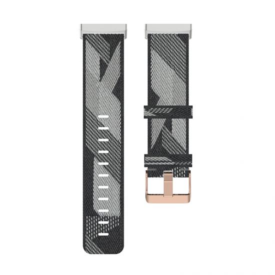 Fitbit Sense / Versa 3 - (S/P) Nylon Band (TSM Band) สายไนล่อน (Premium)