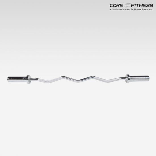 Core-Fitness Barbell (P5787-2)แกนบาร์เบล แบบหยัก EZ Bar 120CM