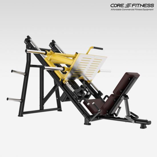 Core-Fitness 45 Degree Leg press TN91 เครื่องบริหารกล้ามขาแมชชีน Leg Press มาตรฐานฟิตเนสเซ็นเตอร์