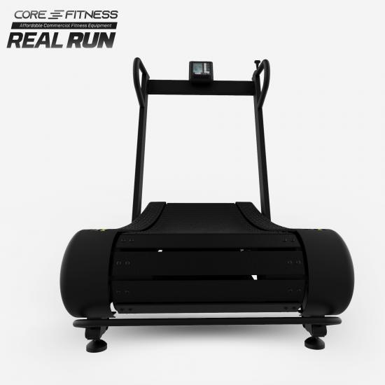 CORE-FITNESS - Real Run - Curved Treadmill ลู่วิ่งโค้ง ไม่ใช้ไฟฟ้า (Zwift Version) พับเก็บได้