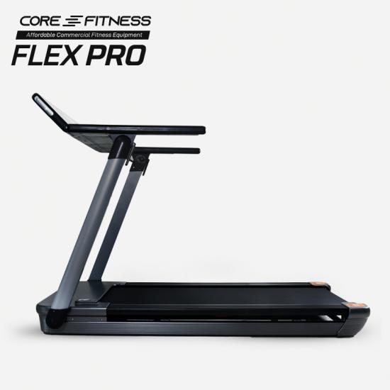 CORE-FITNESS - Flex PRO ลู่วิ่งไฟฟ้า หน้าจอดิจิตอล เชื่อมต่อ Wifi พร้อมแอพความบันเทิง