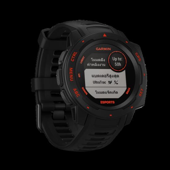 Garmin Instinct Esports Edition นาฬิกา GPS เพื่อสายเกมเมอร์
