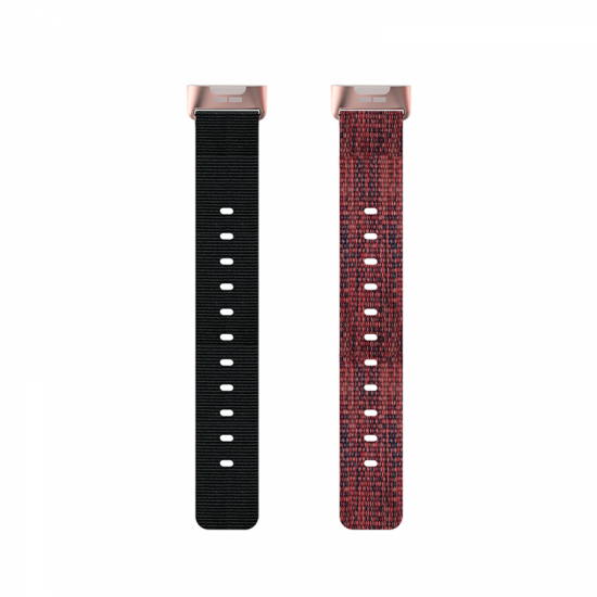 Fitbit Charge 4 / 3 - Nylon Band (One Size) (TSM Band) สายไนล่อน (Premium)