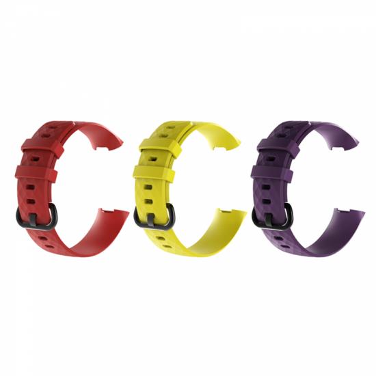 Fitbit Charge 4 / 3 - Silicone Band (TSM Band) สายซิลิโคน (M/L) (Premium)