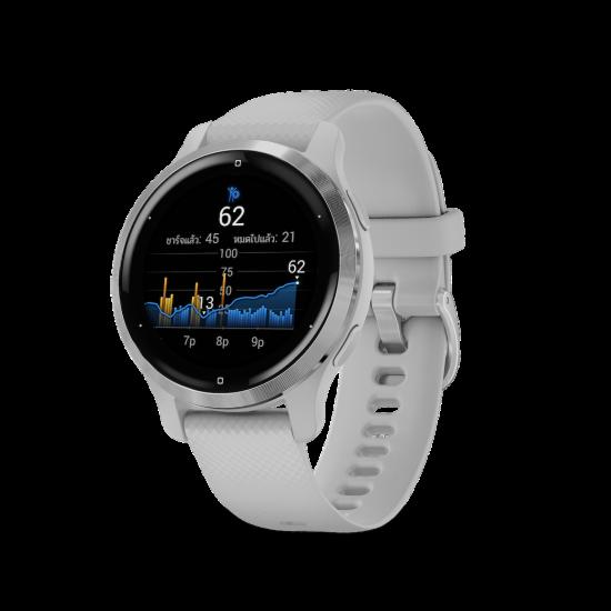 Garmin VENU 2 Series (Venu 2 / Venu 2S) สมาร์ทวอทช์ GPS หน้าจอ AMOLED สีสันแห่งการออกกำลังกาย