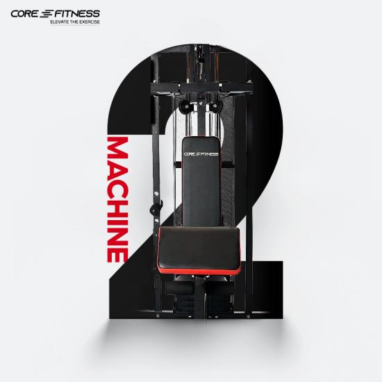Core-Fitness โฮมยิม Home Gym 3 Station เครื่องออกกำลังกาย 3 สถานี เหล็กเกรด Commercial