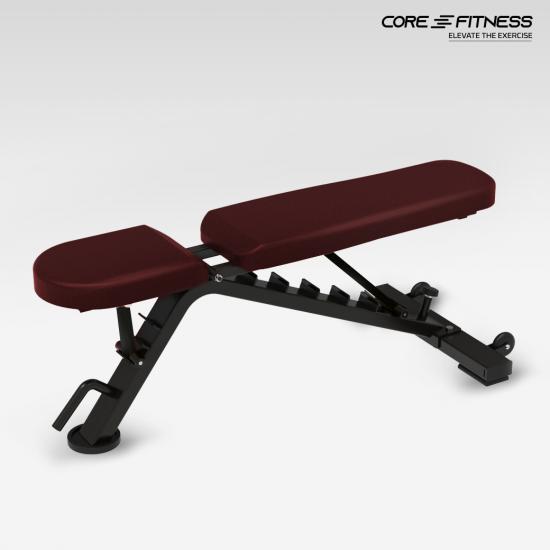 Core-Fitness Adjustable Bench TS213 ม้านั่งออกกำลังกายปรับระดับ ระดับฟิตเนสเซ็นเตอร์