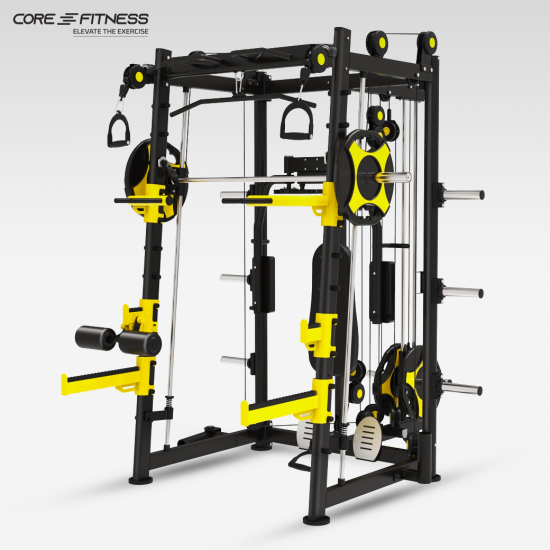 CORE-FITNESS - Smith Machine Muscle (TS109) - โฮมยิม สมิชแม็กชีน ครบทุกฟังก์ชั่น
