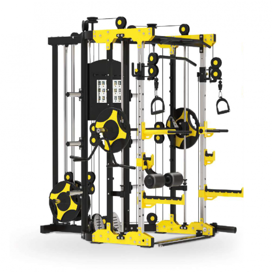CORE-FITNESS - Smith Machine Multi-Muscle (TS101) - โฮมยิม สมิชแม็กชีน (แถมฟรี! แผ่นน้ำหนัก 30 กิโลกรัม)