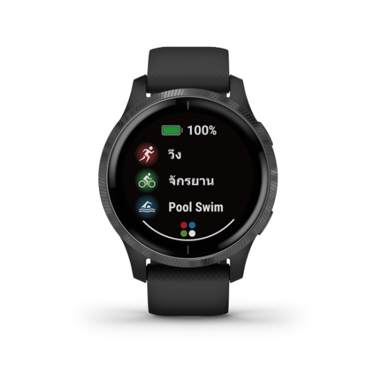(สินค้าตัวโชว์) Garmin VENU สมาร์ทวอทช์ GPS ออกกำลังกาย