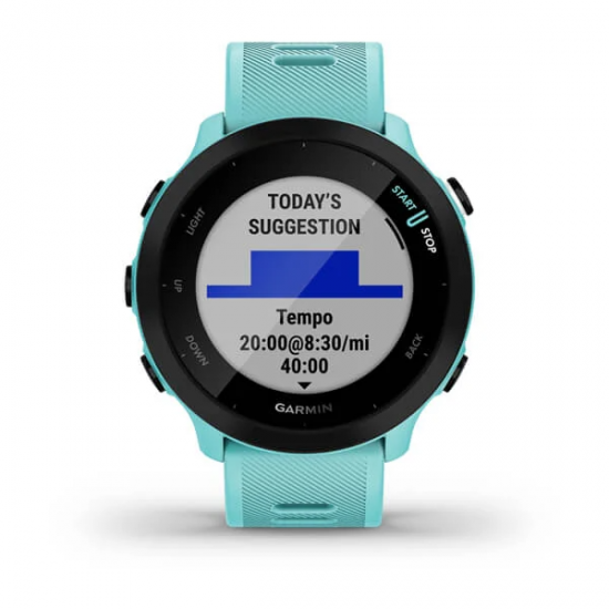 Garmin Forerunner 55 นาฬิกา GPS วิ่ง ฝึกซ้อมวิ่ง