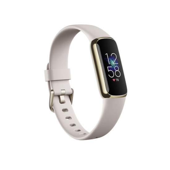 Fitbit Luxe สายรัดข้อมือสุขภาพ วัดชีพจร หน้าจอสีระบบสัมผัส