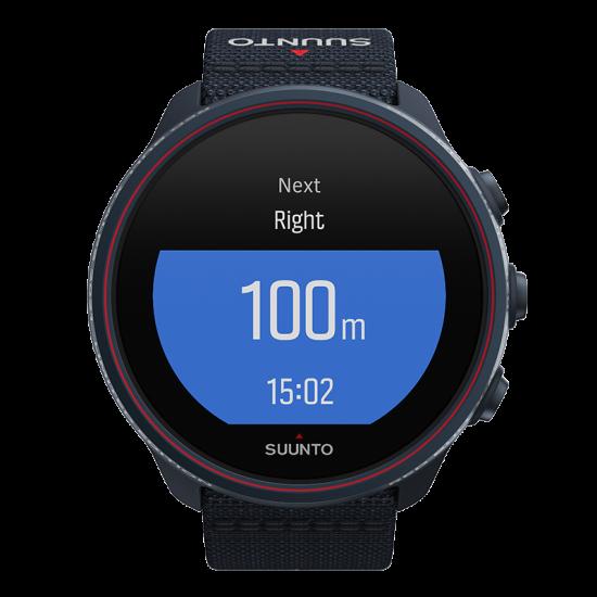 Suunto 9 Baro นาฬิกา GPS ไตรกีฬา-ผจญภัย แบตเตอรี่ยาวนาน