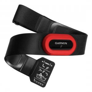 Garmin HRM-Run Black/Red สายคาดหน้าอก