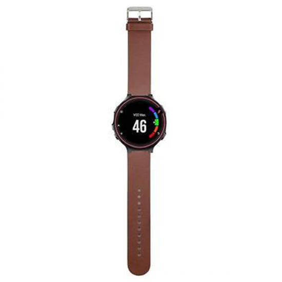 Garmin Forerunner 235/735XT/220/230/620/630 - Leather Band (TSM Band) สายหนัง (Premium)
