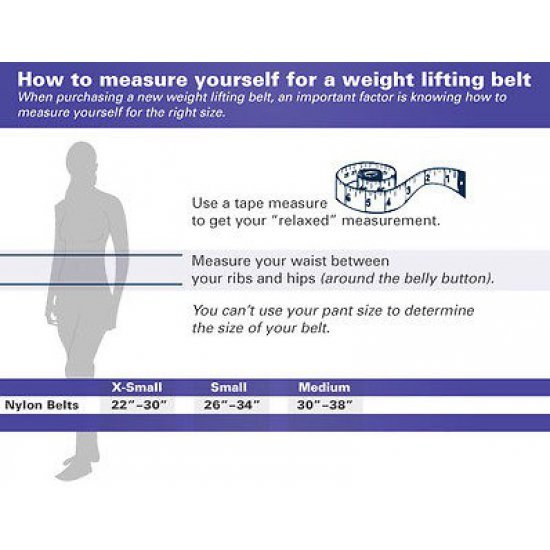 "Harbinger 232 Women's 5"" Foam Core Weight Lifting Belt เข็มขัดยกน้ำหนัก - USA Authentic"
