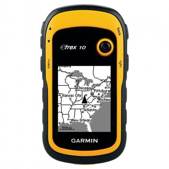 Garmin eTrex 10 GPS เครื่องหาพิกัด คำนวณพื้นที่จากดาวเทียม