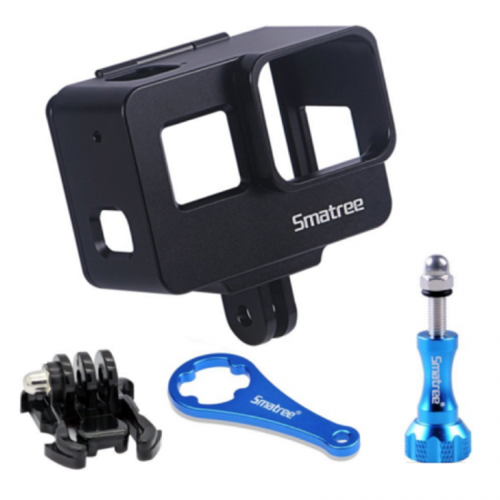Smatree Aluminum Alloy Protective Housing Frame Mount for GoPro Hero 5